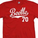 Beetle 70 Script T-Shirt
