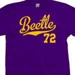 Beetle 72 Script T-Shirt