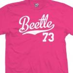 Beetle 73 Script T-Shirt