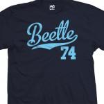 Beetle 74 Script T-Shirt