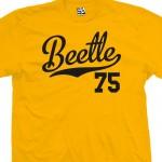 Beetle 75 Script T-Shirt