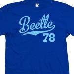 Beetle 78 Script T-Shirt