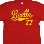 Beetle 77 Script T-Shirt
