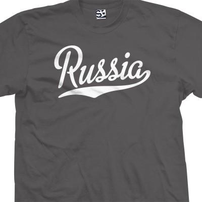 Russia Script T-Shirt