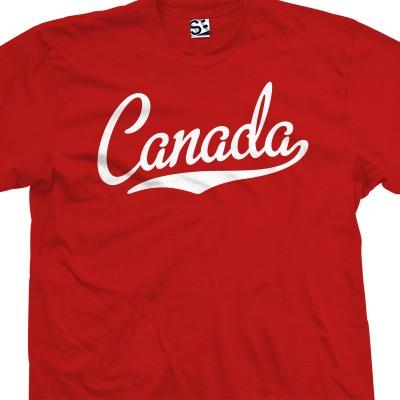 Canada Script T-Shirt