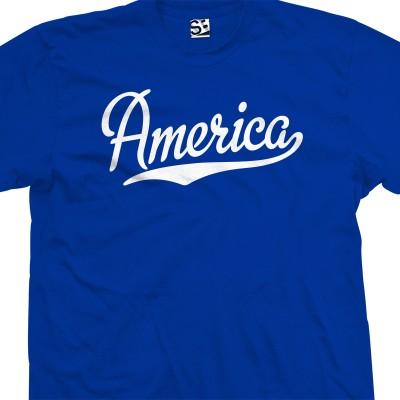 America Script T-Shirt