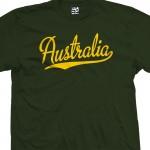 Australia Script T-Shirt