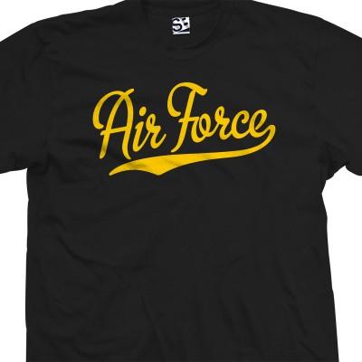Air Force Script T-Shirt