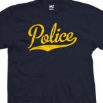 Police Script T-Shirt
