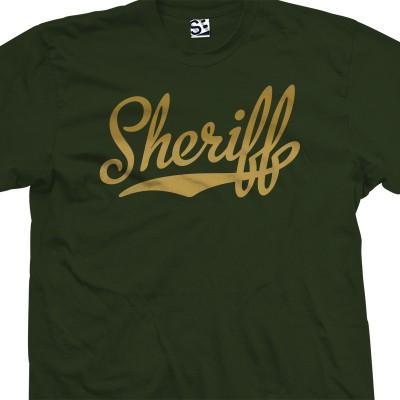 Sheriff Script T-Shirt