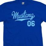 Mustang 06 Script T-Shirt