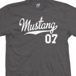 Mustang 07 Script T-Shirt