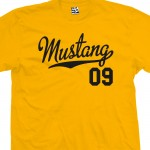 Mustang 09 Script T-Shirt