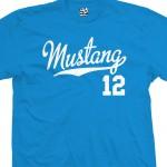 Mustang 12 Script T-Shirt
