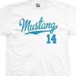 Mustang 14 Script T-Shirt