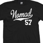 Nomad 57 Script T-Shirt
