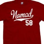 Nomad 58 Script T-Shirt