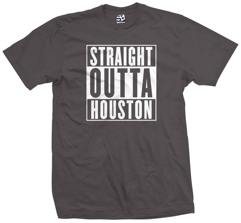 Gearhead T Shirts Straight Outta Houston Shirt