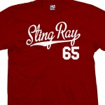 Sting Ray 65 Script T-Shirt
