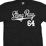 Sting Ray 64 Script T-Shirt