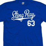 Sting Ray 63 Script T-Shirt