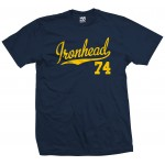 Ironhead 74 Script T-Shirt