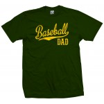 Baseball Dad Script T-Shirt