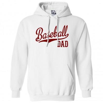 Baseball Dad Script Hoodie