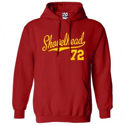 Shovelhead 72 Script Hoodie