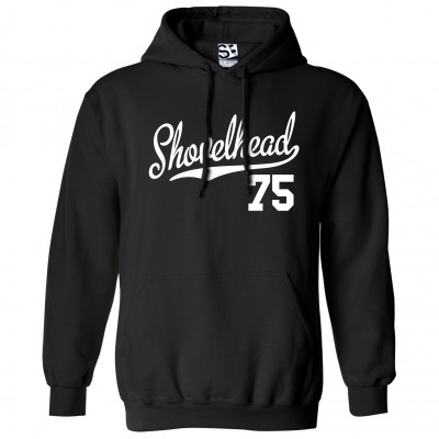 Shovelhead 75 Script Hoodie