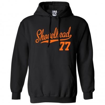 Shovelhead 77 Script Hoodie