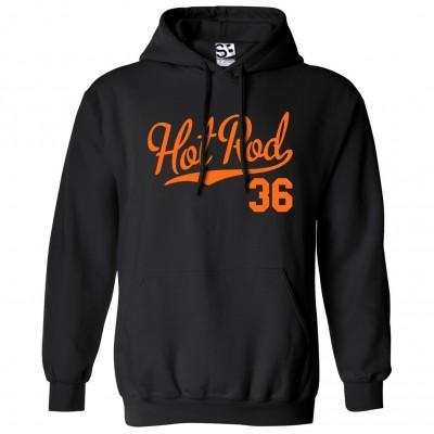Hot Rod 36 Script Hoodie