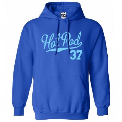 Hot Rod 37 Script Hoodie