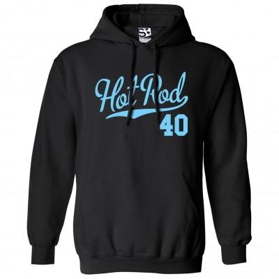Hot Rod 40 Script Hoodie