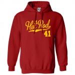 Hot Rod 41 Script Hoodie
