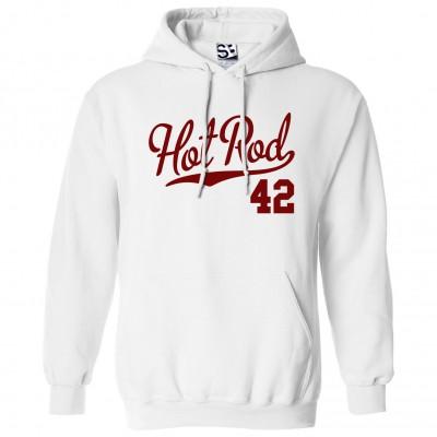 Hot Rod 42 Script Hoodie