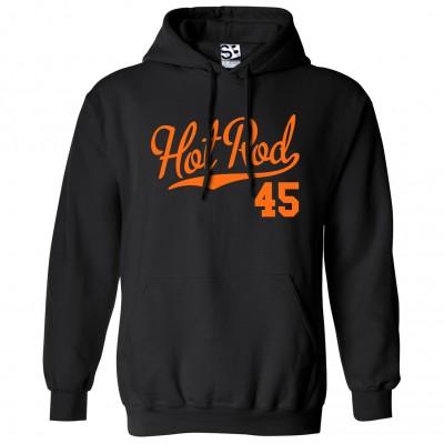 Hot Rod 45 Script Hoodie