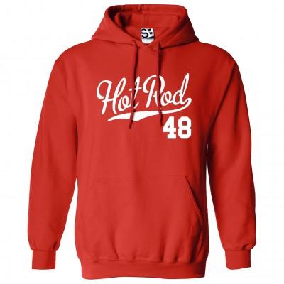 Hot Rod 48 Script Hoodie
