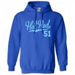 Hot Rod 51 Script Hoodie