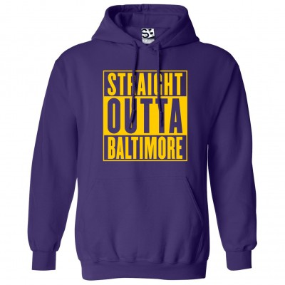 Straight Outta Baltimore Hoodie