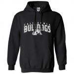 California Bulldogs Under Dog Black Hoodie