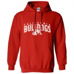 California Bulldogs Under Dog Red Hoodie