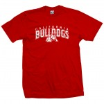 California Bulldogs Under Dog Red T-Shirt