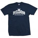 Bulldogs Baseball Top Dog Navy T-Shirt