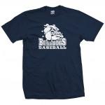 Bulldogs Baseball Big Dog Navy T-Shirt
