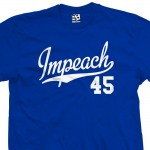 Impeach 45 Script & Tail T-Shirt