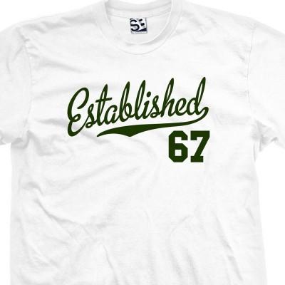 Established 1967 Script T-Shirt
