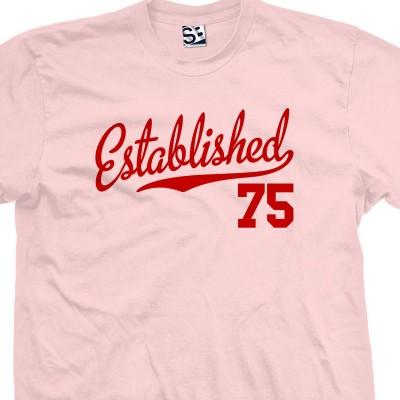 Established 1975 Script T-Shirt