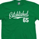 Established 1965 Script T-Shirt