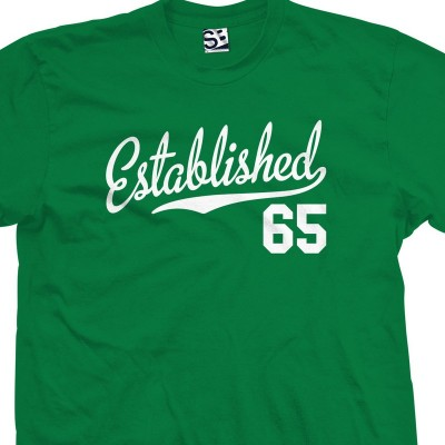 Established 1965 Script T-Shirt